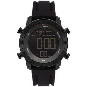 Relógio Technos Masculino Digi-Ana Preto BJK006AA/4P BJK006AA/4P