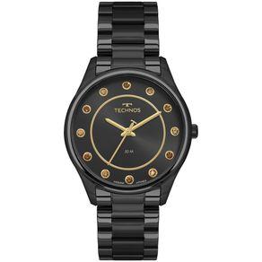 Relógio Technos Feminino Trend Preto 2036MLK/4P 2036MLK/4P