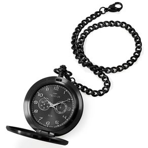 Relógio Technos Masculino Heritage Preto VD77AB/4P VD77AB/4P