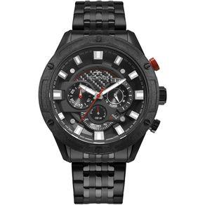 Relógio Technos Masculino Ts Carbon Preto JS25CL/4P JS25CL/4P