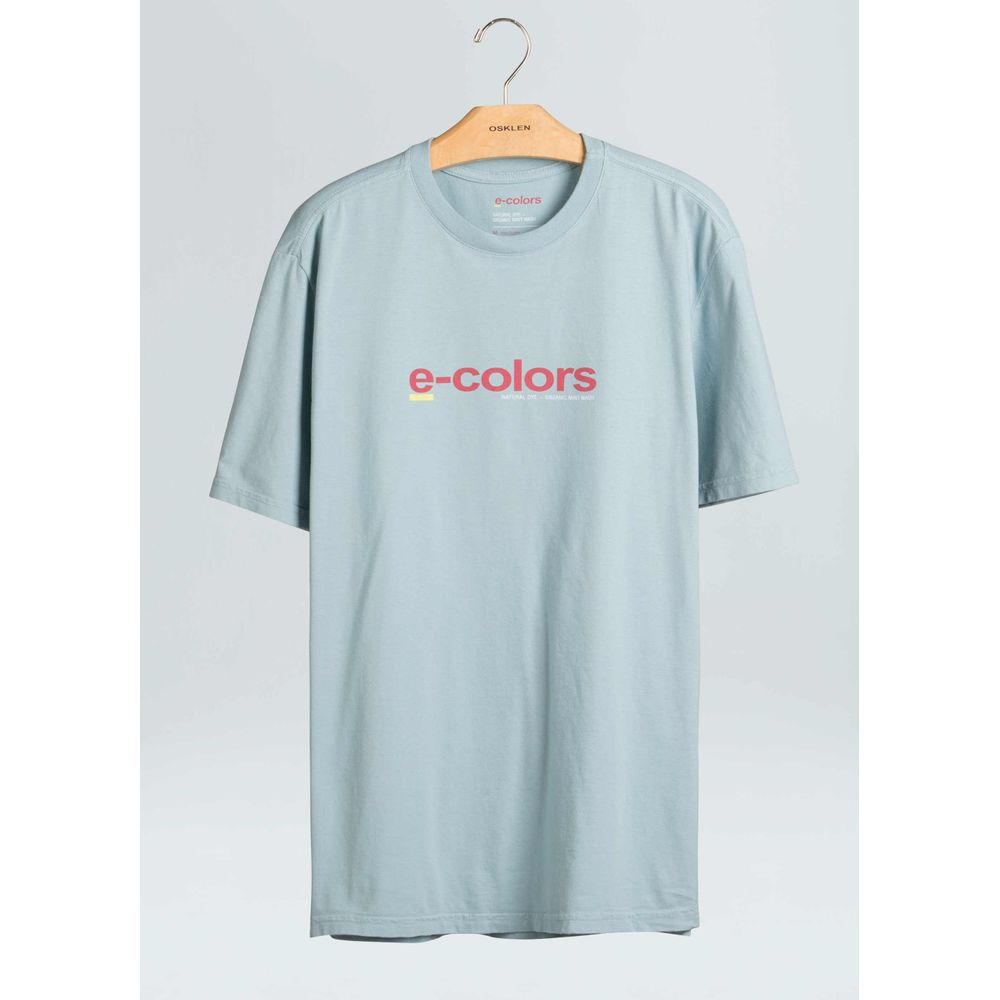 T-Shirt E-Colors Title-Indigo - P