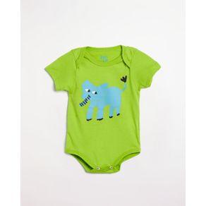 Body Bebe Silk Elefante Verde Hierba - P